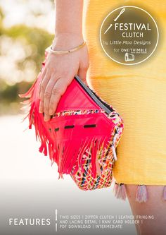 The Festival Clutch for One Thimble Issue 17