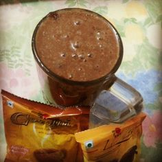 Evening break with Mango shake mixed with DXN Cocozhi and Lingzhi 3 in Coffee. ...