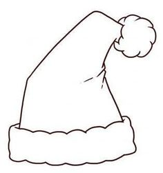 How to Draw a Santa Claus Hat to Colour In. Christmas is coming and one of the most iconic characters of this holiday is Santa Claus, the jolly old man who brings goodies on the night of December In this article, we'll show you how to dra. Christmas Ornament Template, Christmas Templates, Holiday Ornaments, Holiday Crafts, Christmas Decorations, Santa Coloring Pages, Puppy Coloring Pages, Christmas Coloring Pages, Christmas Hat