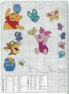 GRAFICOS INFANTILES PUNTO DE CRUZ (pág. 4) | Aprender manualidades es facilisimo.com