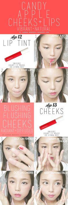 How To : Korean Ulzzang/Uljjang Make Up (Ft. Aegyo Sal) | MADOKEKI makeup reviews, tutorials, and beauty