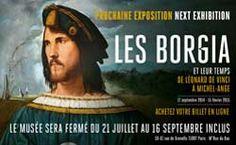A partir du 17 septembre 2014, le Musée Maillol présente l'exposition ''Les Borgia''