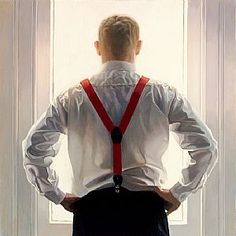 """Back I"" ~  Iain Faulkner (Scottish, born 1973)"