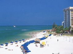 """Clearwater Beach in Clearwater Beach, FL. Best Beach Town: Beating out nine other popular Florida beach destinations, Clearwater Beach was named """"Best Beach Town"""" in January 2013 by the most widely read newspaper in America, USA Today. Best Beach In Florida, Clearwater Beach Florida, Places In Florida, Destin Florida, Destin Beach, Florida Vacation, Florida Beaches, Florida Usa, Vacation Destinations"""