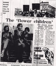Robert Plant 1967 protests outside a court to legalize weed, Pre Zeppelin Led Zeppelin, Shirley Wilson, Perry Barr, Orientation Outfit, Back Door Man, A Night To Remember, Renaissance Men, Robert Plant, Pop Singers
