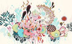 Juxtapoz Magazine - Abstract Organisms