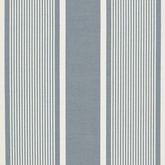 Boaters Bay Stripe – Chambray - Maritime Outdoor - Fabric - Products - Ralph Lauren Home - RalphLaurenHome.com