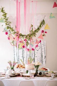 Woodland Fairy Tea Party by emma-q