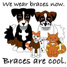 cartoons on braces - Google Search