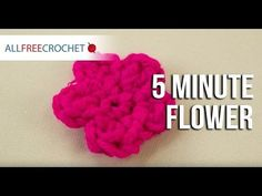 There are a lot of free crochet flower patterns to choose from, but trust us when we tell you that we've collected the best of them all. Check out the crochet flower pattern video, too. The free crochet flower patterns in this collection are great. Crochet Quilt Pattern, Crochet Flower Patterns, Crochet Toys Patterns, Crochet Flowers, All Free Crochet, Learn To Crochet, Easy Crochet, Yarn Flowers, Crochet Animal Amigurumi