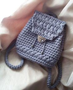 Вязаные сумки — тренд 2017 года - Ярмарка Мастеров - ручная работа, handmade