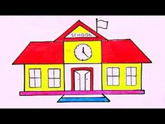 رسن مدرسة سهله وجميل رسم سهل جدا رسومات سهلة وجميلة تعليم الرسم للمبتدئين خطوة بخطوة Youtube School