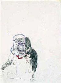 Ape by Jean-Michel Basquiat