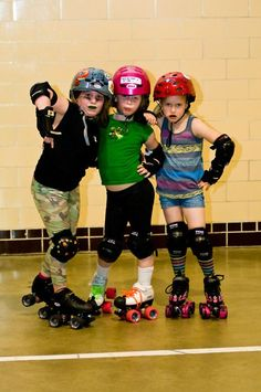I'm so jealous that we didn't have junior roller derby in Kansas City until I was fifteen. SERIOUSLY. I'm crazy Jealous. I'll need to find a better way to look at this.