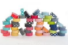 Love Washi & My Mind's Eye! Awesome combination!   My Mind's Eye Decorative Tape 8-pack - 35% off