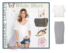 """""""just fine!"""" by ines-i-g on Polyvore featuring MANGO, Glamorous, Casual Attitude and Dolce Vita"""