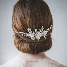 Hair Accessories for Updos Hairstyles Uk In 2020 Wedding Hair Accessories Bridal Hair Accessories Cute Headband Hairstyles, Uk Hairstyles, Wedding Hairstyles, Hair Comb Wedding, Wedding Updo, Bridal Comb, Short Hair Updo, Flowers In Hair, Flower Hair