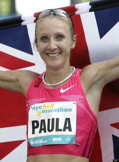 London Paula marathon peeing ratcliff