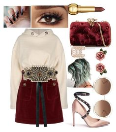 """Untitled #593"" by denis-bogdan-siminiuc on Polyvore featuring AlexaChung, Benedetta Bruzziches, Dolce&Gabbana, Chloé, Valentino and Co.Ro"