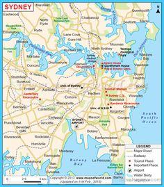 Sydney Australia Map City.8 Amazing Australia Map Images Map Of Australia Australia Map