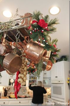 1000 Images About Decorating A Pot Rack On Pinterest