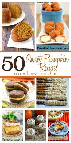 50 Sweet Pumpkin Recipes on Real Housemoms