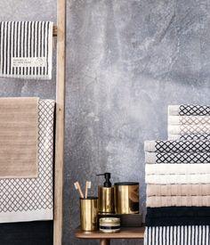 Towel Collection. Blush. Grey. Black. Gold. Pink. Bathroom. Linens. Decor. Home.