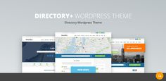 DirectoryPRO: WordPress Directory Theme (updated in Theme Words, Case Study, Wordpress Theme, First Time, Knowledge, Language, Concept, Feelings, Portal