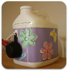 Concentrated Homemade Laundry Detergent DIY