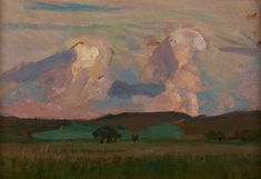 Jan Stanisławski, Wiosna na Krzemionkach, 1906 r.