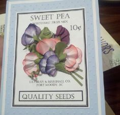 Mom's 85th birthday card.  All cardstock Stampin Up
