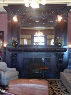 Grand fireplace, Boldt Castle