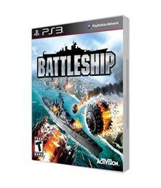 Jogo-Playstation-3---Battleship