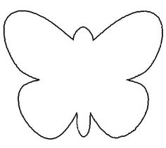 Try This Free, Printable Butterfly Coloring Page: Printable Butterfly Pattern