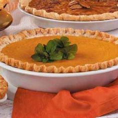 Eggnog Pumpkin Pie,  I'm making this for Thanksgiving.