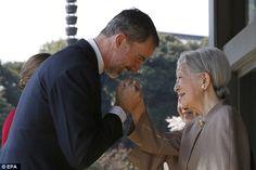 King Felipe and Queen Letizia Visit Japan – Day 1