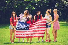 Cimorelli celebrating 4th of July
