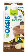 Our new chocolate-banana smoothie; a guilty pleasure without the guilt! #smoothie #chocolate #banana