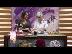 Mulher.com - 13/07/2016 - Jogo americano com técnica de filtro de café - Rosely Ferraiol - YouTube