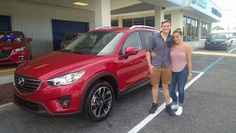 Congratulations to Anthony Orcutt on the purchase of this red-hot 2016 CX-5 Grand Touring! We welcome Anthony to the ZT Motors family and wish him many years of Zoom-Zoom! #YouMatter