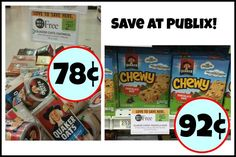 New Quaker Coupons For The Publix BOGO Sales – Oatmeal As Low As 78¢