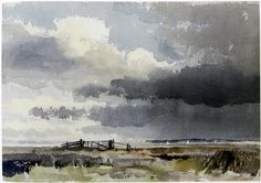 Edward Seago #watercolor jd