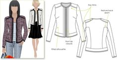 Get the Chanel Look without the complication!  Purchased December 2013