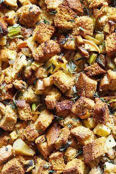 Best Recipe Apple Chestnut Stuffing Recipe on Pinterest