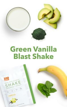Easily sneak leafy greens into your diet with this Green Vanilla Smoothie Blast Smoothie that's full of plant-based proteins, healthy fats, & fiber! Yummy Snacks, Yummy Drinks, Healthy Drinks, Vanilla Smoothie, Protein Powder Recipes, Plant Based Protein, Calorie Counting, Healthy Fats, Drink Recipes
