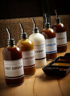 LILLIE'S Q BBQ SAUCES (Chicago, IL) Chef Charlie McKenna has won numerous awards on the competition barbeque circuit, and has expanded to selling his famous BBQ sauces