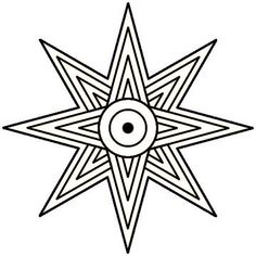 Eight Pointed Star Ishtar