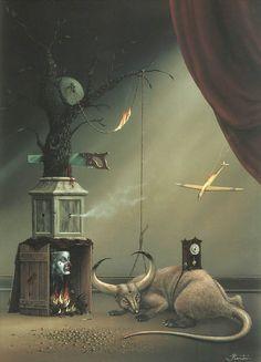 62 Beste Afbeeldingen Van Hans Kanters Artist Magic Realism En