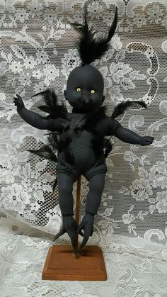 Zombie Baby Chick, Chicken Peeps Horror Doll Halloween Haunted House Prop