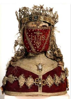Reliquary Bust of a Female Saint: 17th CenturyVander Kelen-Mertens Museum :Leuven, Belgium